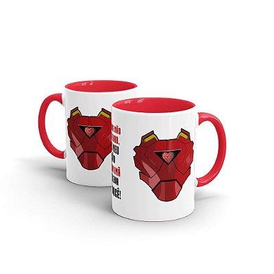Caneca Personalizada Namorados IRON HEART - Beek