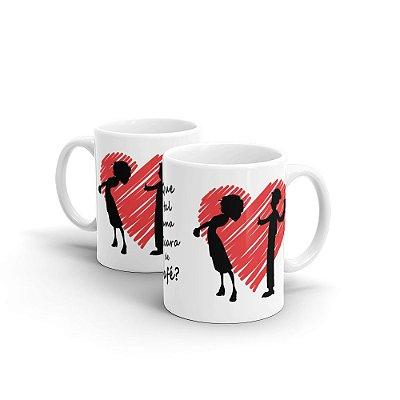Caneca Personalizada Namorados XÍCARA DE CAFÉ - Beek