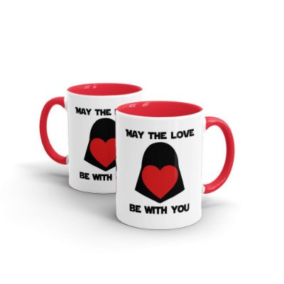 Caneca Personalizada Namorados MAY THE LOVE - Beek