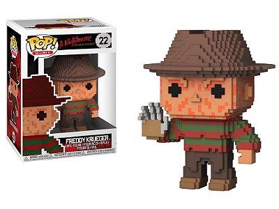 Estatueta Funko 8-Bit Pop! Horror - Freddy Krueger