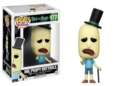 Estatueta Funko Pop! Animation Rick & Morty - Mr. Poopy But