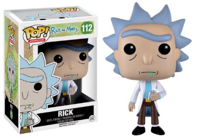 Estatueta Funko Pop! Animation Rick & Morty - Rick
