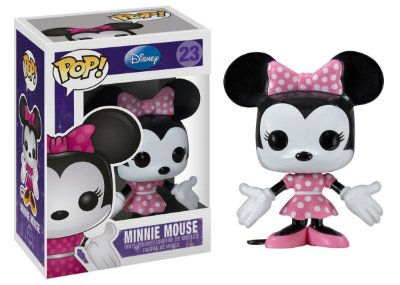Estatueta Funko Pop! Disney - Minnie Mouse