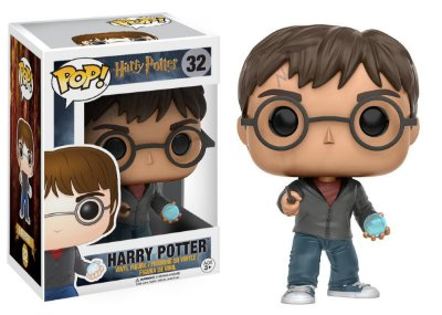 Estatueta Funko Pop! Movies Harry Potter - Harry W/Prophecy
