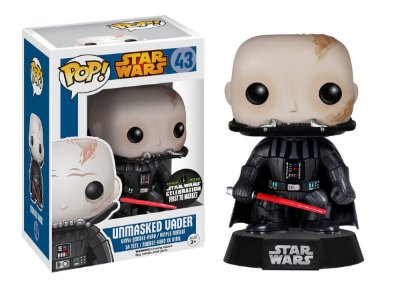 Estatueta Funko Pop! Star Wars - Unmasked Darth Vader