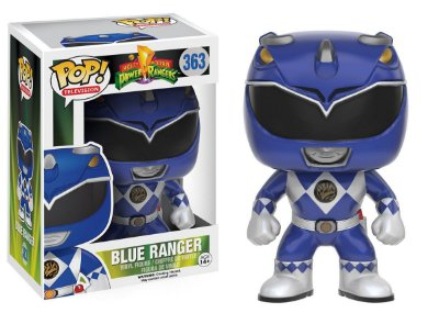 Estatueta Funko Pop! Television Power Rangers - Blue Ranger
