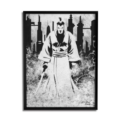 Quadro Decorativo Samurai By Baal's - Beek