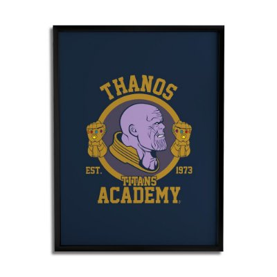 Quadro Decorativo Thanos By Cleyton Braga - Beek