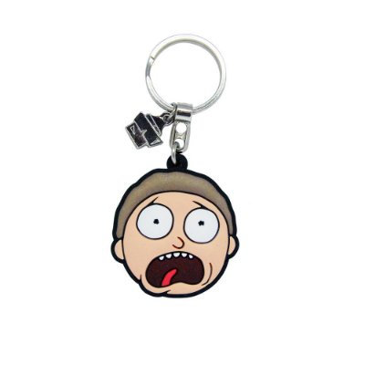 Chaveiro de Borracha Morty RICK AND MORTY Oficial - Beek (Caixa)