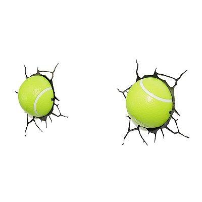 Luminária 3D Light FX Bolas de Tênis (par)
