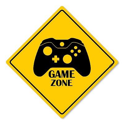 Placa Decorativa 30x30 Gaming Zone X - Beek