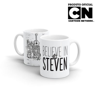 Caneca Cartoon Network OFF Believe in Steven