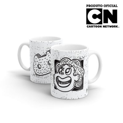 Caneca Cartoon Network OFF Steven Cat
