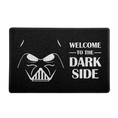 Capacho 60x40cm WELCOME TO THE DARK SIDE - Beek