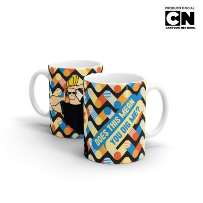 Caneca Cartoon Network POP JHONNY BRAVOL Dig Me - Beek
