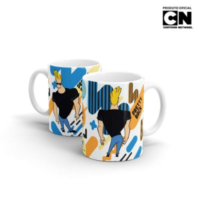 Caneca Cartoon Network POP JOHNNY BRAVO Pretty - Beek
