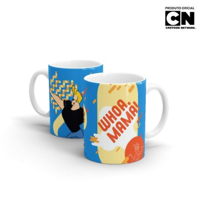 Caneca Cartoon Network POP JOHNNY BRAVO Whoa Mama - Beek