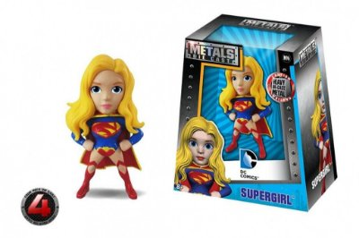 "Mini Bonecos Metal DIE CAST DC Super Girl 2,5"""