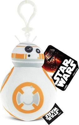 Chaveiro de Pelúcia BB-8