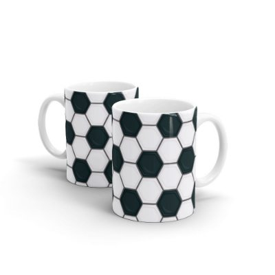 Caneca Personalizada Cerâmica FUTEBOL - Beek