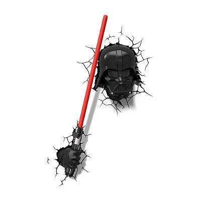 Conjunto Luminárias 3D Light FX Darth Vader