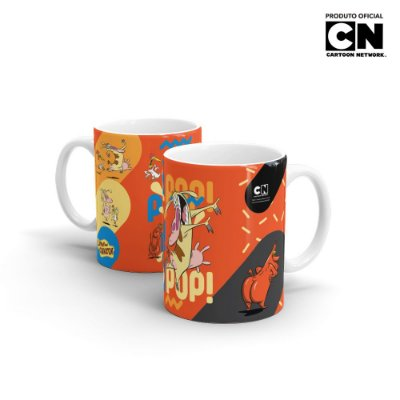 Caneca Cartoon Network A VACA E O FRANGO - Pop Pop