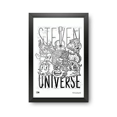Quadro Decorativo Cartoon Network STEVEN UNIVERSE - Beek