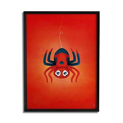 Quadro Decorativo Aranha-Aranha By Fe Sponchi - Beek