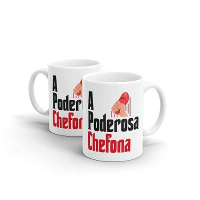 Caneca Cerâmica - PODEROSA CHEFONA