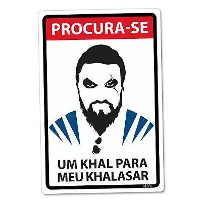 Placa Decorativa 24x16 Khal - Beek