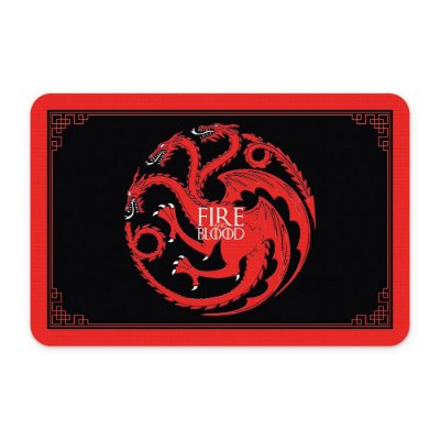 Tapete 60x40 Fire and Blood - Beek