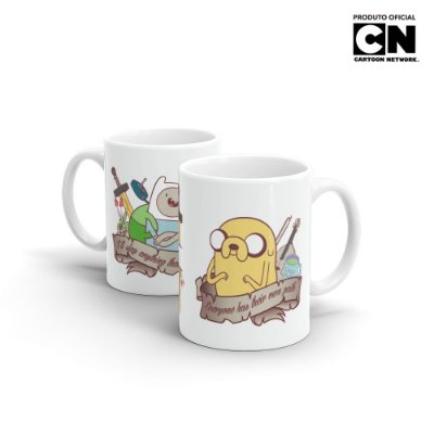 Caneca Cartoon Network HORA DE AVENTURA - Bros