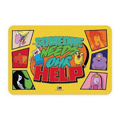 Tapete 60x40 Cartoon Network HORA DE AVENTURA Help