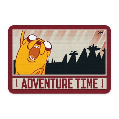 Tapete 60x40 Cartoon Network HORA DE AVENTURA Glory and Blood Jake