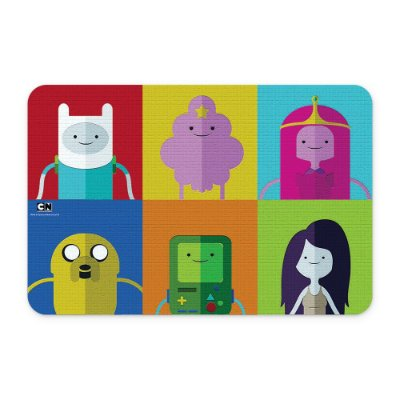 Tapete 60x40 Cartoon Network HORA DE AVENTURA Personagens