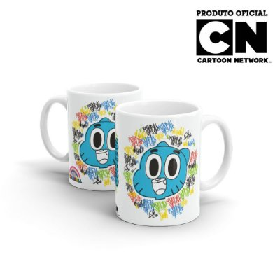 Caneca Cartoon Network OGUMBALL - Grafite