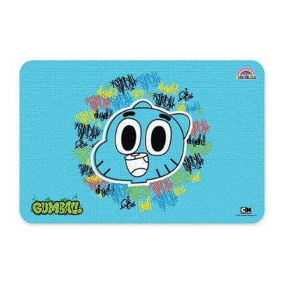 Tapete 60x40 Cartoon Network O incrível mundo de Gumball - Grafite