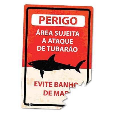 Placa Decorativa 24x16 - TUBARÃO