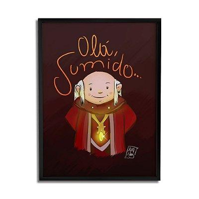 Quadro Decorativo Olá Sumido By Lua Lins - Beek