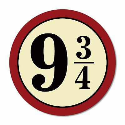 Placa Decorativa 30x30 - 9 3/4 (vermelha)