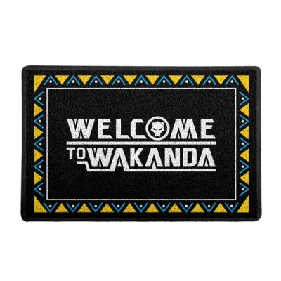 Capacho 60x40cm - WELCOME TO WAKANDA