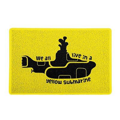Capacho 60x40cm Yellow Submarine AMARELO - Beek