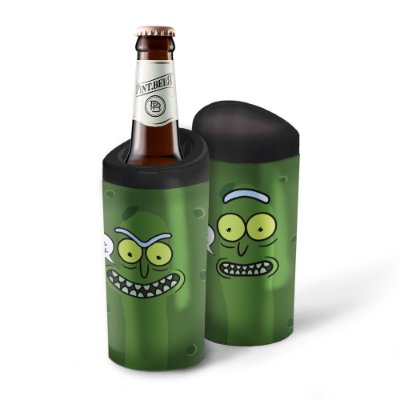 Porta Garrafa Térmico 600ml Rick and Morty PICKLE - Beek