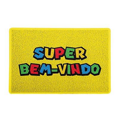 Capacho 60x40cm Super Bem-Vindo - Beek