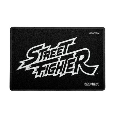 Capacho 60x40cm Street Fighter - LOGO