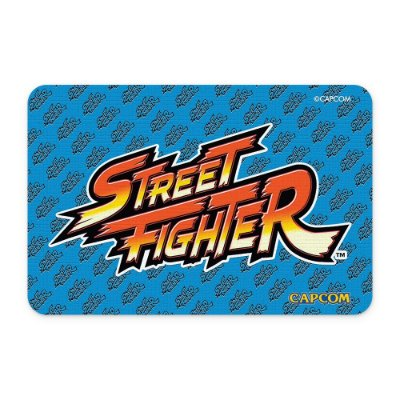 Tapete 60x40 Street Fighter - LOGO Azul