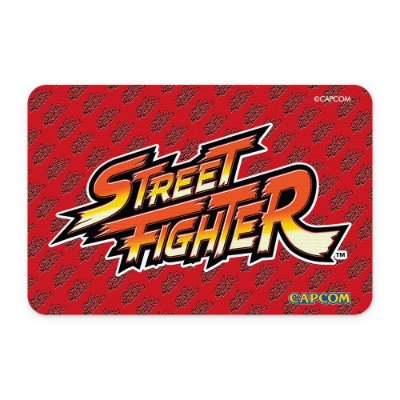 Tapete 60x40 Street Fighter - LOGO Vermelha