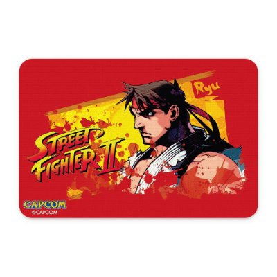 Tapete 60x40 Street Fighter - Ryu Vermelho