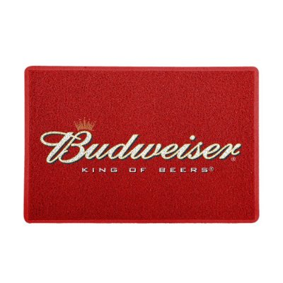 Capacho 60x40cm Budweiser Vermelho - Beek