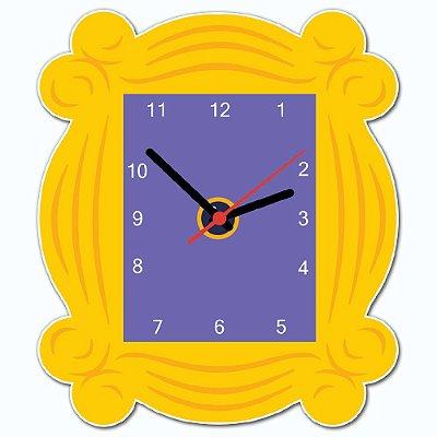 Relógio de Parede Beek Quadro Amigos